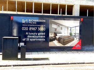 Hammersmith-Site-Hoarding-Graphics
