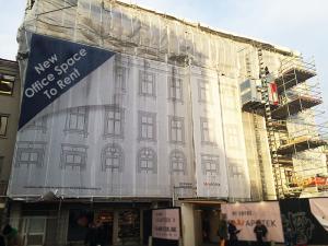 Building Wrap Print