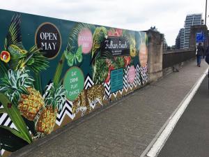 Advertising Hoarding in Croydon