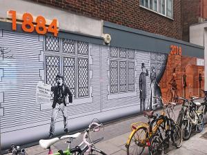 East London hoarding printing company