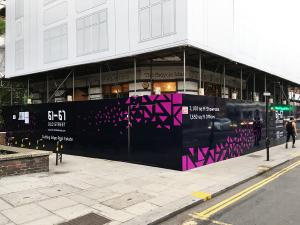 Printed Hoarding Graphics in London