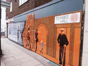 hoarding panels printing london