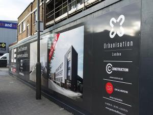 hoarding printing company london