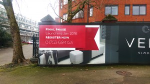 Hoarding Graphics for Construction Site in london